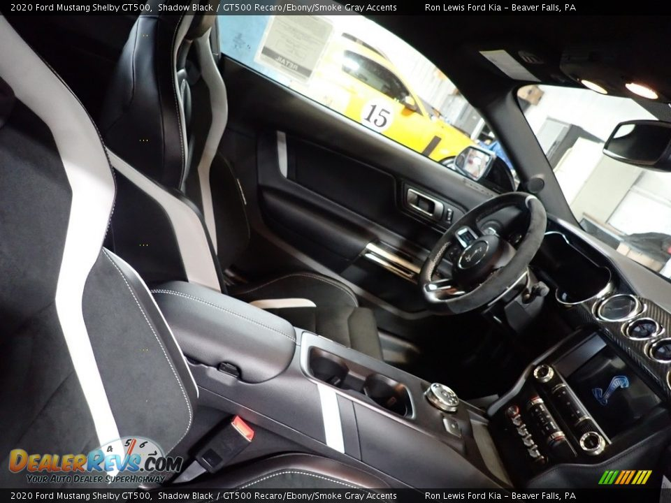Front Seat of 2020 Ford Mustang Shelby GT500 Photo #9