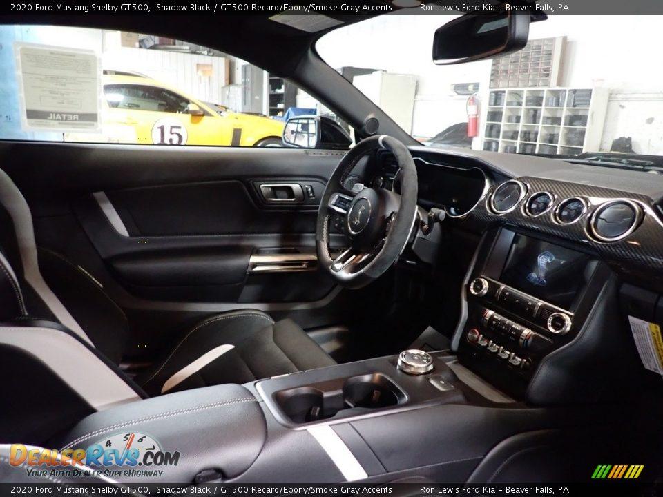 GT500 Recaro/Ebony/Smoke Gray Accents Interior - 2020 Ford Mustang Shelby GT500 Photo #10