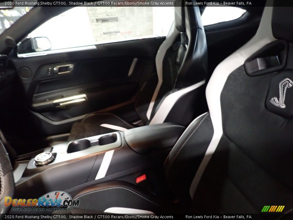 Front Seat of 2020 Ford Mustang Shelby GT500 Photo #11