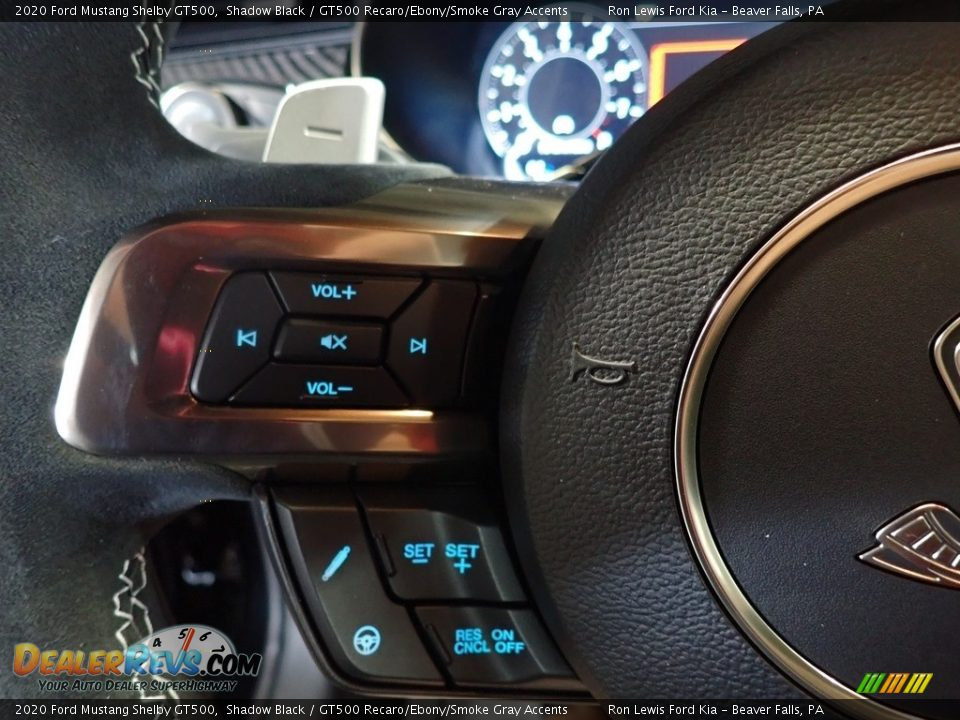 2020 Ford Mustang Shelby GT500 Steering Wheel Photo #16