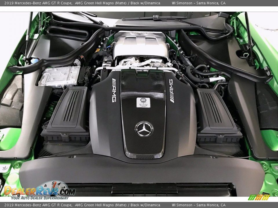 2019 Mercedes-Benz AMG GT R Coupe 4.0 AMG Twin-Turbocharged DOHC 32-Valve VVT V8 Engine Photo #8