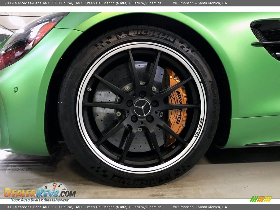 2019 Mercedes-Benz AMG GT R Coupe Wheel Photo #9