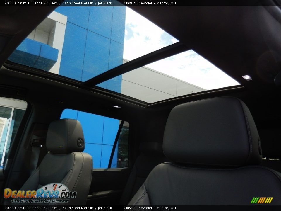 Sunroof of 2021 Chevrolet Tahoe Z71 4WD Photo #10