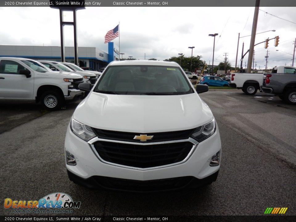 2020 Chevrolet Equinox LS Summit White / Ash Gray Photo #2