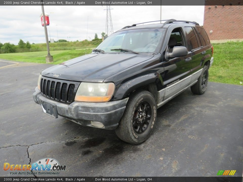2000 Jeep Grand Cherokee Laredo 4x4 Black / Agate Photo #5