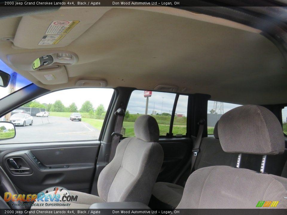 2000 Jeep Grand Cherokee Laredo 4x4 Black / Agate Photo #9