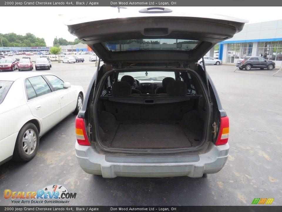2000 Jeep Grand Cherokee Laredo 4x4 Black / Agate Photo #14
