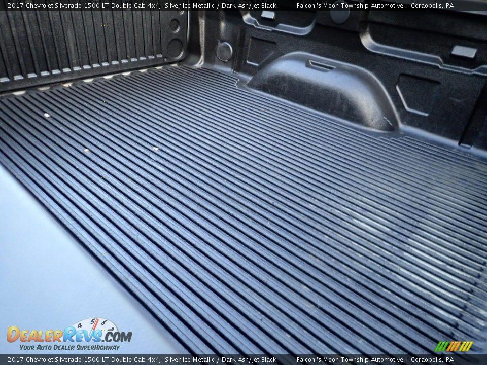 2017 Chevrolet Silverado 1500 LT Double Cab 4x4 Silver Ice Metallic / Dark Ash/Jet Black Photo #14