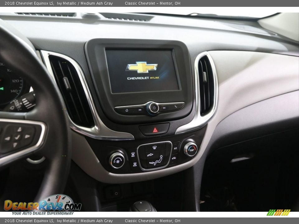 2018 Chevrolet Equinox LS Ivy Metallic / Medium Ash Gray Photo #8