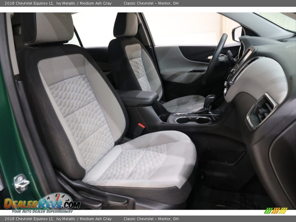 2018 Chevrolet Equinox LS Ivy Metallic / Medium Ash Gray Photo #14