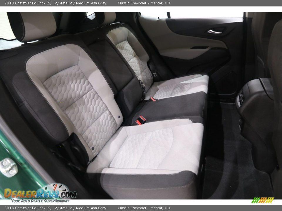 2018 Chevrolet Equinox LS Ivy Metallic / Medium Ash Gray Photo #15