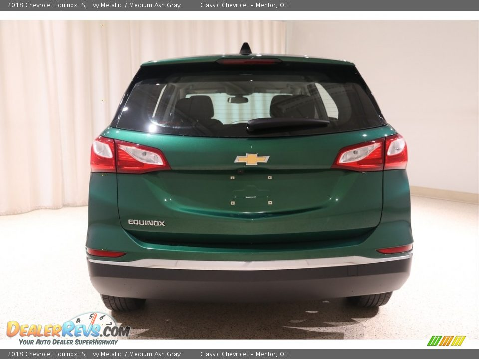 2018 Chevrolet Equinox LS Ivy Metallic / Medium Ash Gray Photo #17