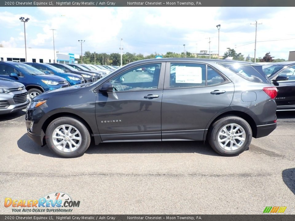 2020 Chevrolet Equinox LS Nightfall Gray Metallic / Ash Gray Photo #2