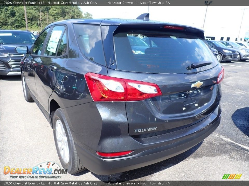 2020 Chevrolet Equinox LS Nightfall Gray Metallic / Ash Gray Photo #3