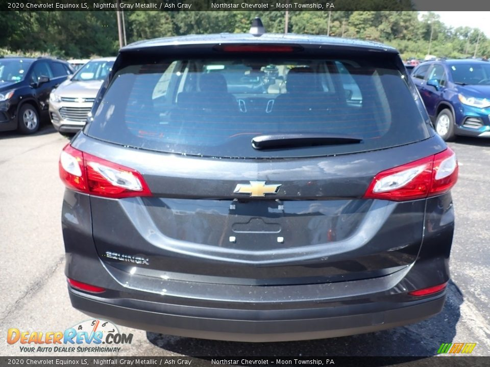 2020 Chevrolet Equinox LS Nightfall Gray Metallic / Ash Gray Photo #4