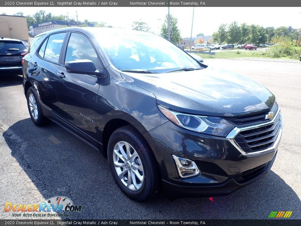 2020 Chevrolet Equinox LS Nightfall Gray Metallic / Ash Gray Photo #7
