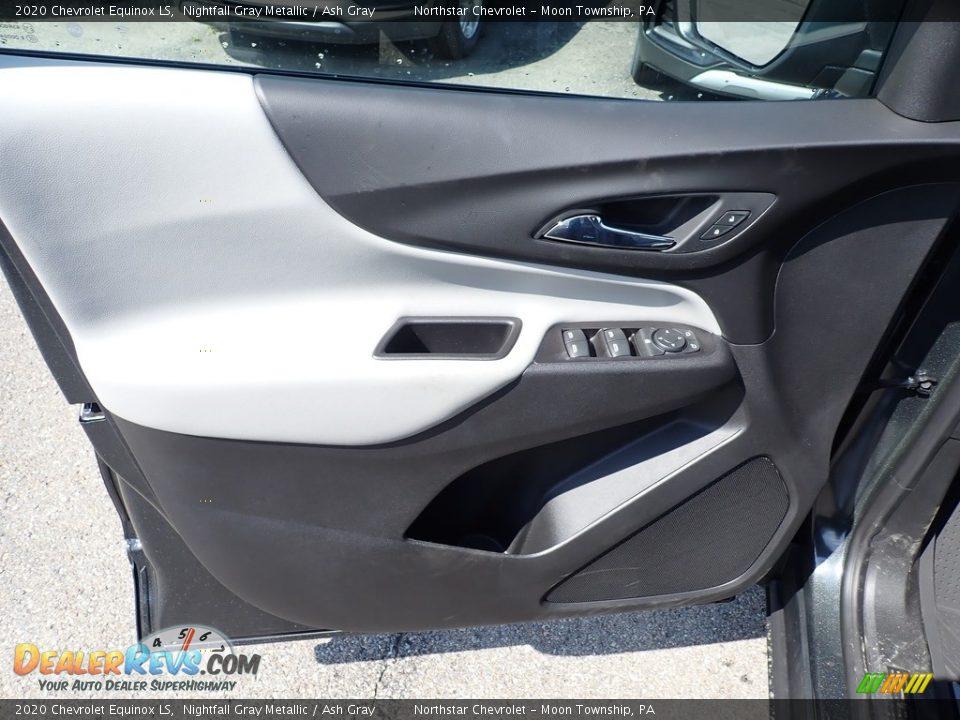 2020 Chevrolet Equinox LS Nightfall Gray Metallic / Ash Gray Photo #13