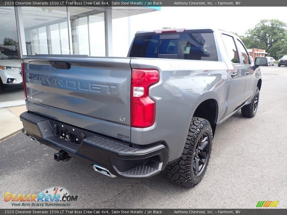 2020 Chevrolet Silverado 1500 LT Trail Boss Crew Cab 4x4 Satin Steel Metallic / Jet Black Photo #4