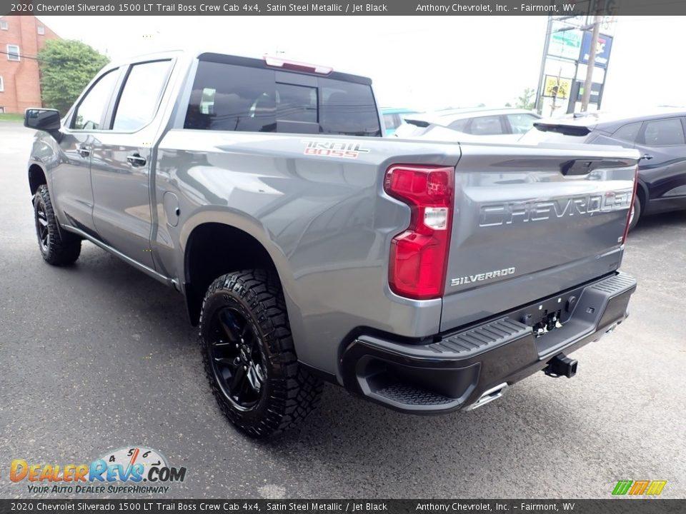2020 Chevrolet Silverado 1500 LT Trail Boss Crew Cab 4x4 Satin Steel Metallic / Jet Black Photo #6