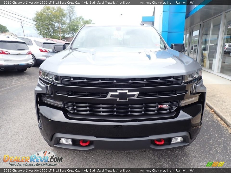 2020 Chevrolet Silverado 1500 LT Trail Boss Crew Cab 4x4 Satin Steel Metallic / Jet Black Photo #8