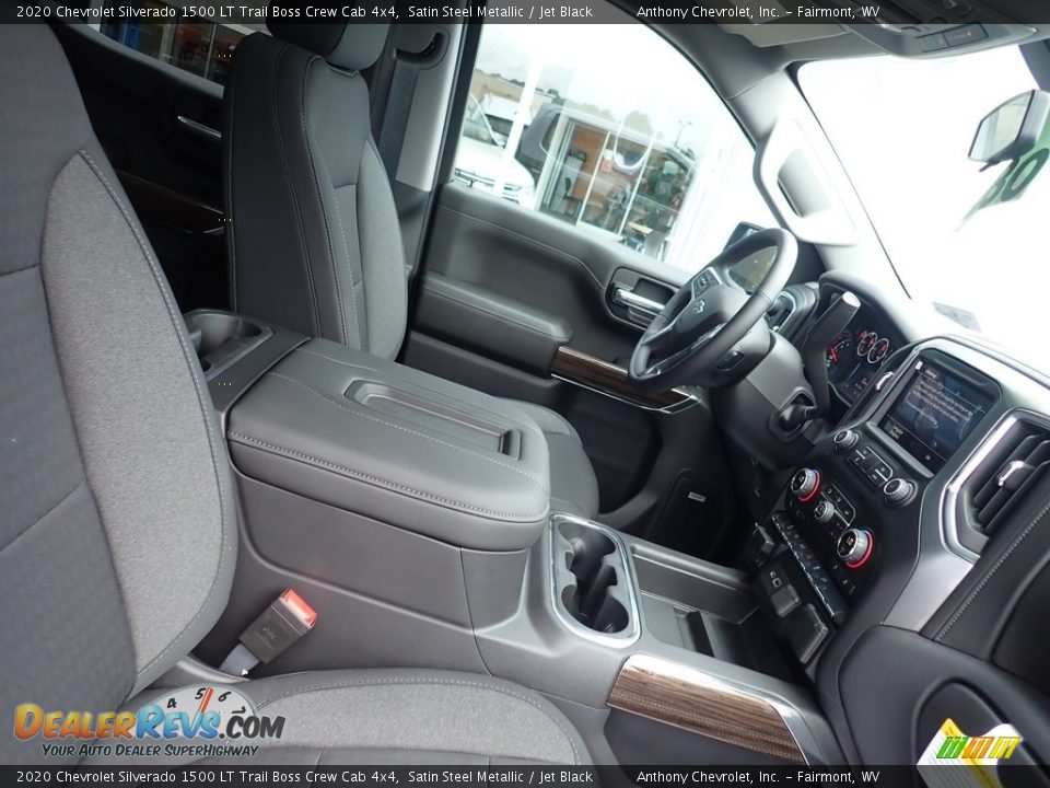 2020 Chevrolet Silverado 1500 LT Trail Boss Crew Cab 4x4 Satin Steel Metallic / Jet Black Photo #9