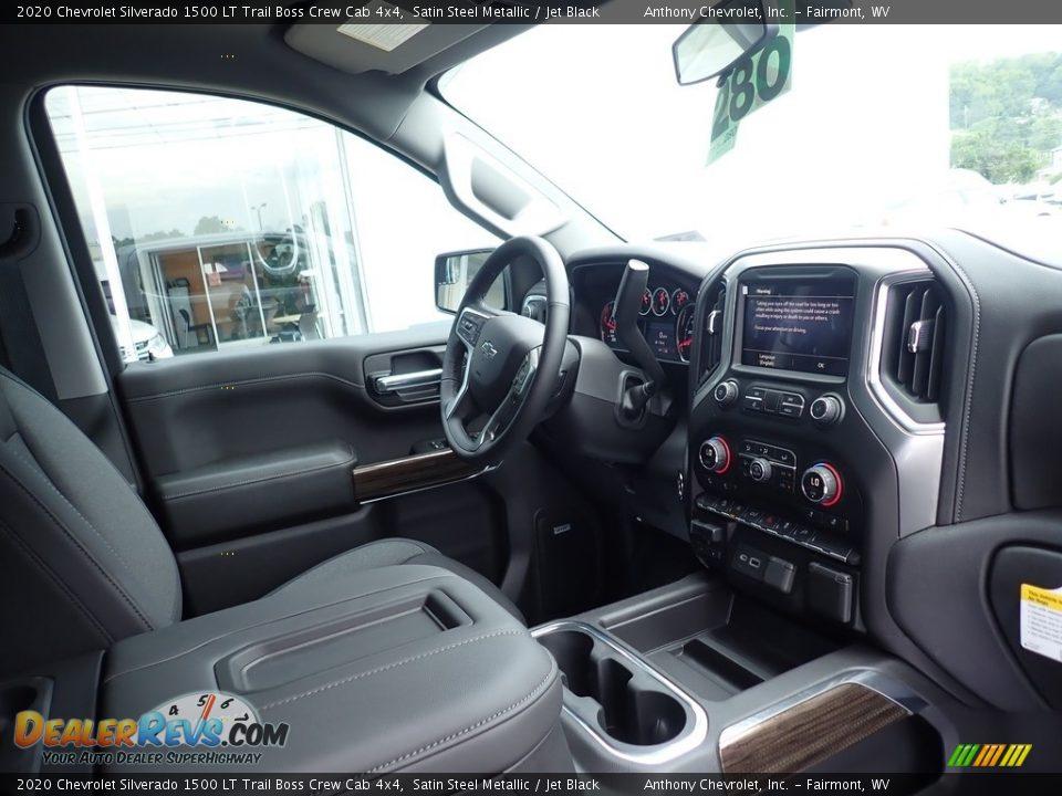 2020 Chevrolet Silverado 1500 LT Trail Boss Crew Cab 4x4 Satin Steel Metallic / Jet Black Photo #10