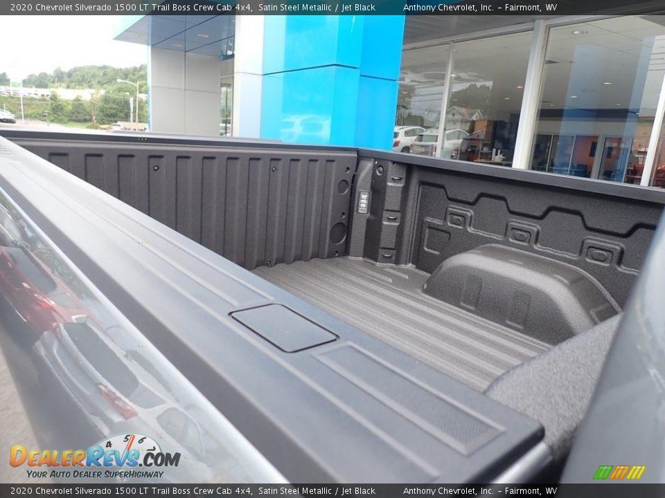 2020 Chevrolet Silverado 1500 LT Trail Boss Crew Cab 4x4 Satin Steel Metallic / Jet Black Photo #12