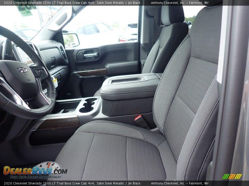 2020 Chevrolet Silverado 1500 LT Trail Boss Crew Cab 4x4 Satin Steel Metallic / Jet Black Photo #13