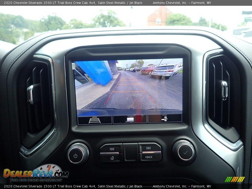 2020 Chevrolet Silverado 1500 LT Trail Boss Crew Cab 4x4 Satin Steel Metallic / Jet Black Photo #17