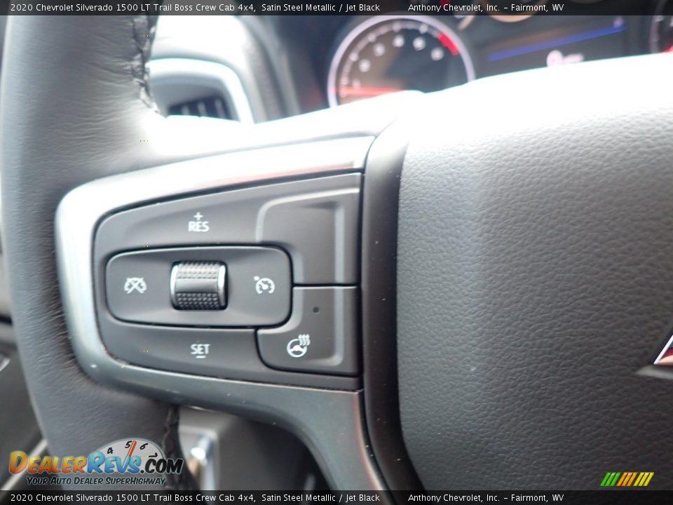 2020 Chevrolet Silverado 1500 LT Trail Boss Crew Cab 4x4 Satin Steel Metallic / Jet Black Photo #19