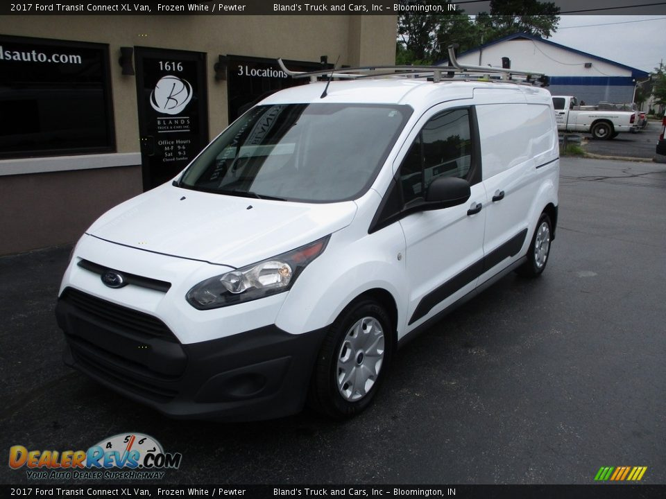 2017 Ford Transit Connect XL Van Frozen White / Pewter Photo #2