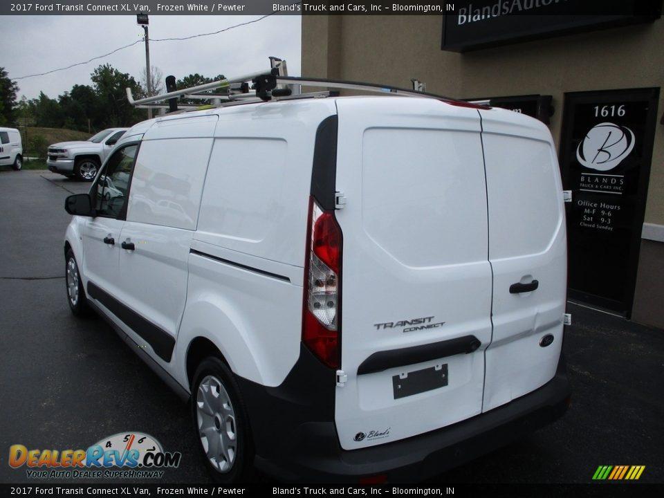 2017 Ford Transit Connect XL Van Frozen White / Pewter Photo #3