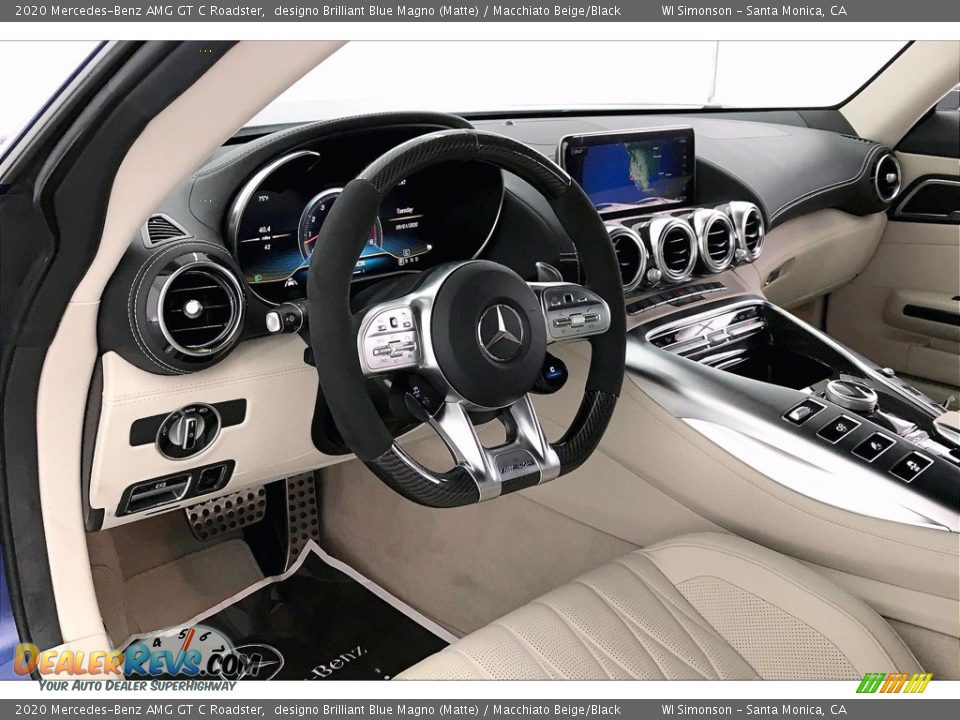 Controls of 2020 Mercedes-Benz AMG GT C Roadster Photo #4