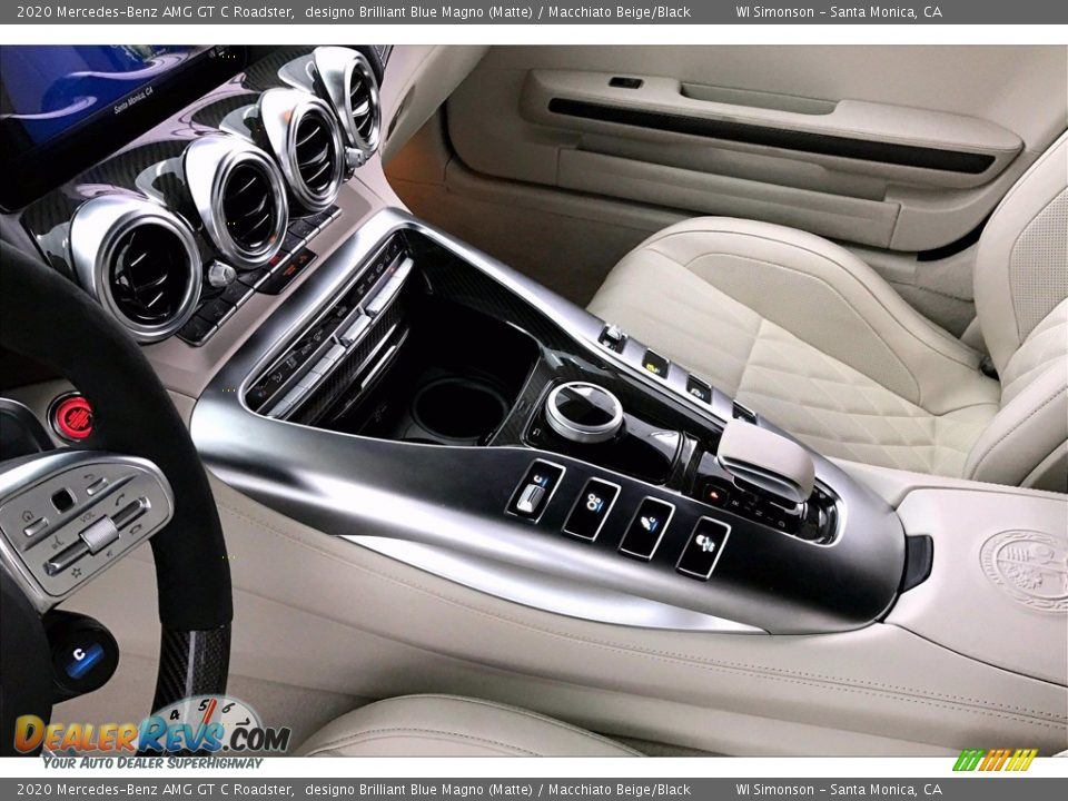2020 Mercedes-Benz AMG GT C Roadster Shifter Photo #7