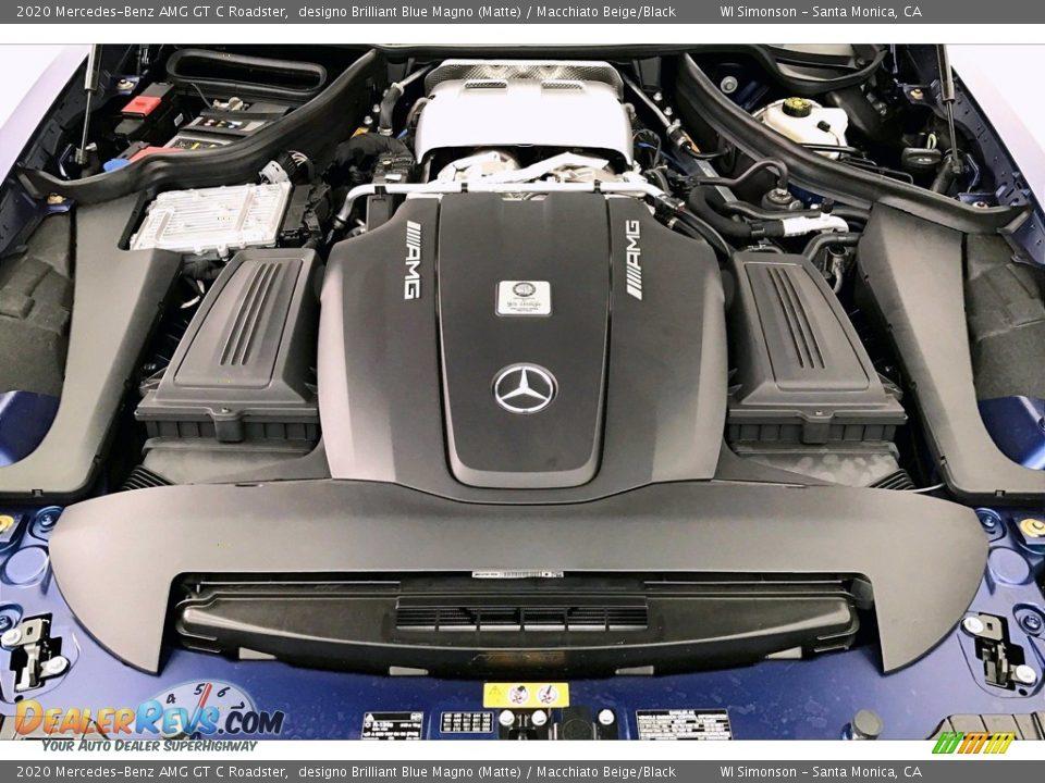 2020 Mercedes-Benz AMG GT C Roadster 4.0 Liter Twin-Turbocharged DOHC 32-Valve VVT V8 Engine Photo #8