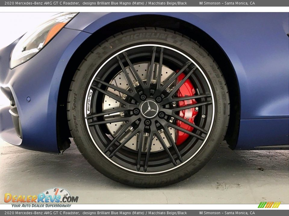 2020 Mercedes-Benz AMG GT C Roadster Wheel Photo #9
