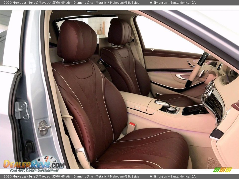 Front Seat of 2020 Mercedes-Benz S Maybach S560 4Matic Photo #5