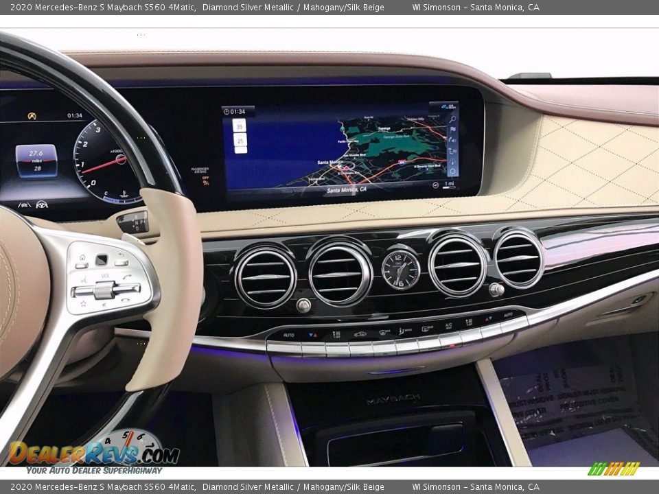 Controls of 2020 Mercedes-Benz S Maybach S560 4Matic Photo #6