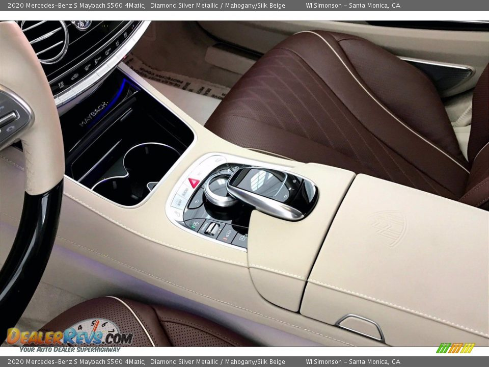 Controls of 2020 Mercedes-Benz S Maybach S560 4Matic Photo #7