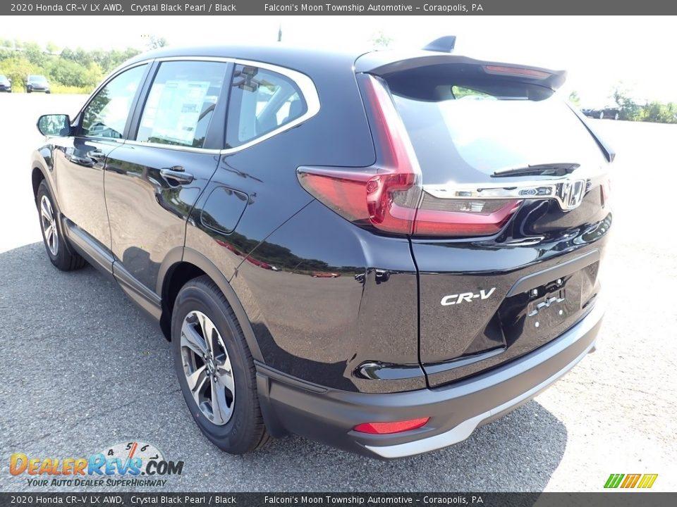 2020 Honda CR-V LX AWD Crystal Black Pearl / Black Photo #2