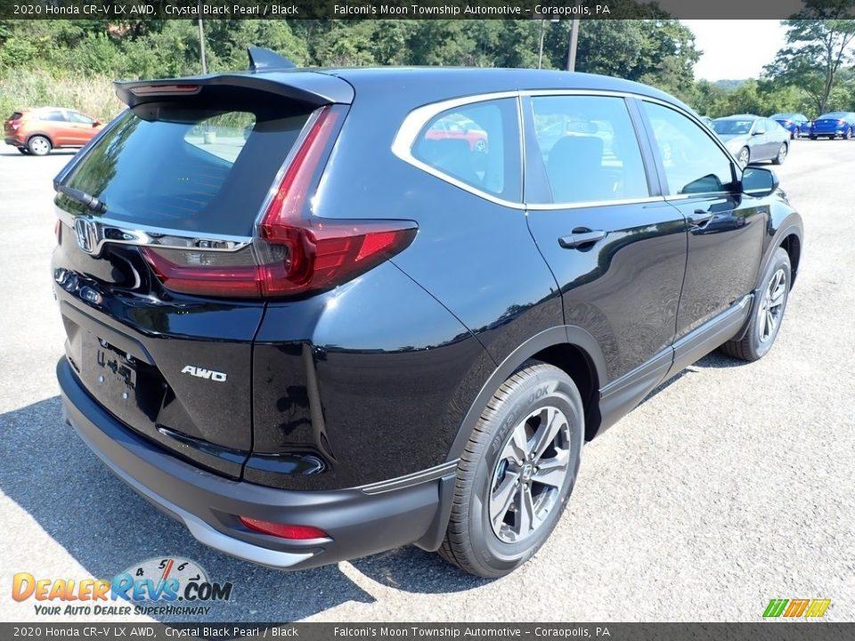 2020 Honda CR-V LX AWD Crystal Black Pearl / Black Photo #4