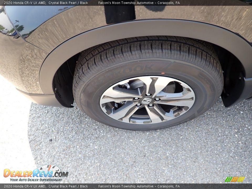 2020 Honda CR-V LX AWD Crystal Black Pearl / Black Photo #7