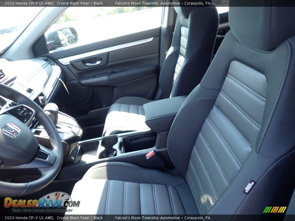 Front Seat of 2020 Honda CR-V LX AWD Photo #8
