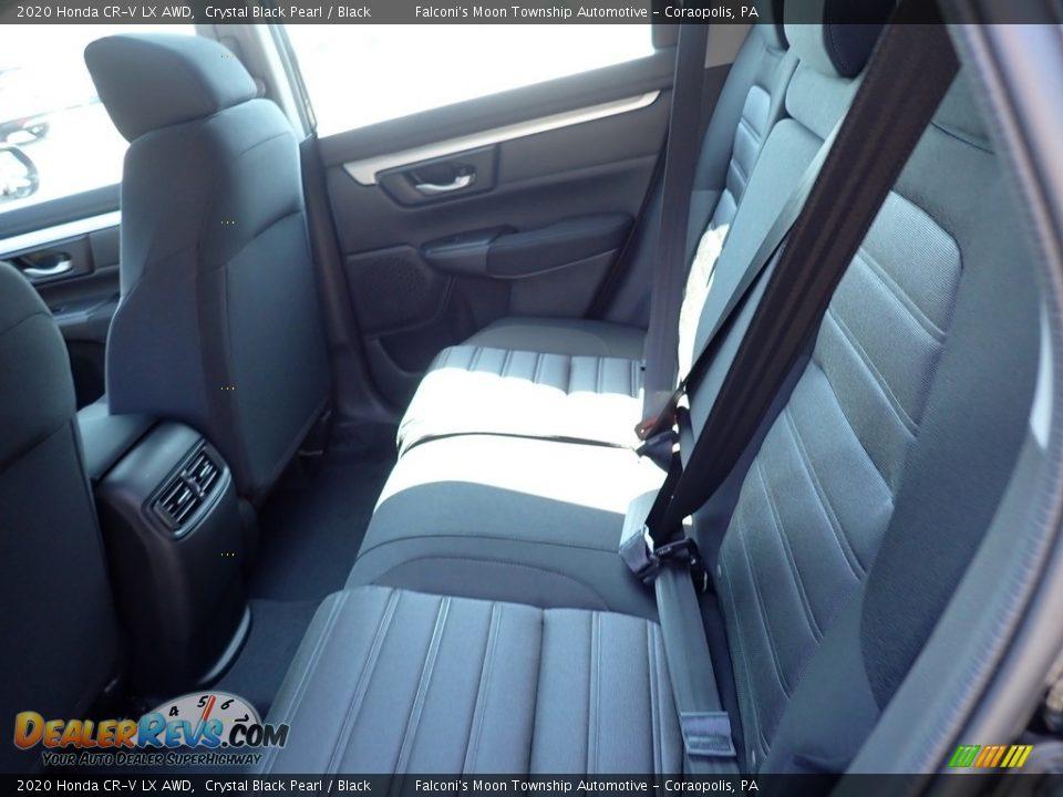 Rear Seat of 2020 Honda CR-V LX AWD Photo #9