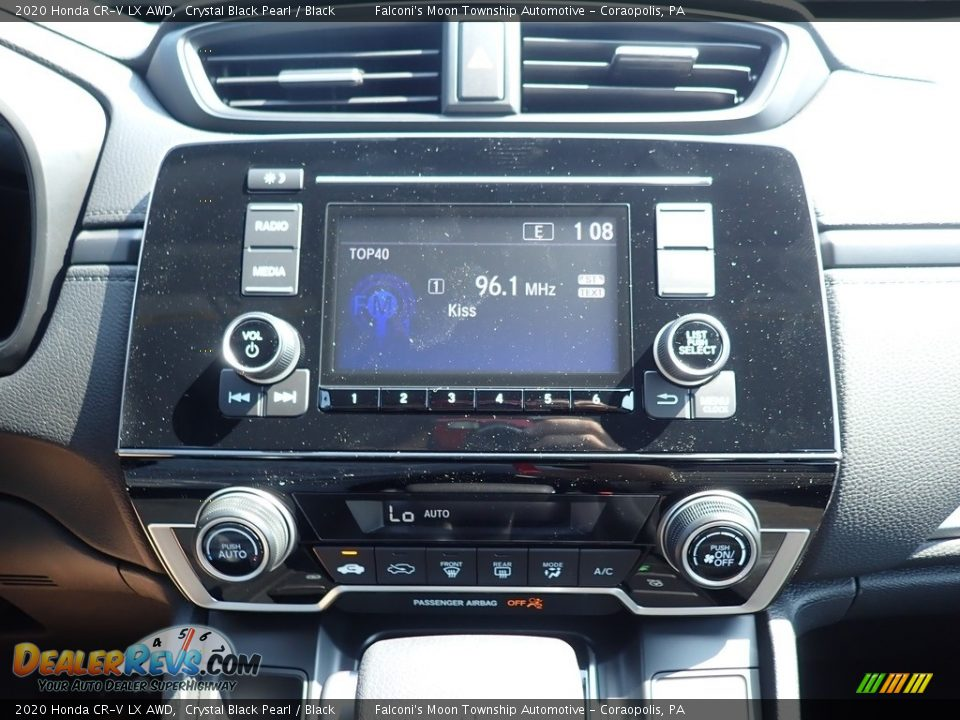 2020 Honda CR-V LX AWD Crystal Black Pearl / Black Photo #13