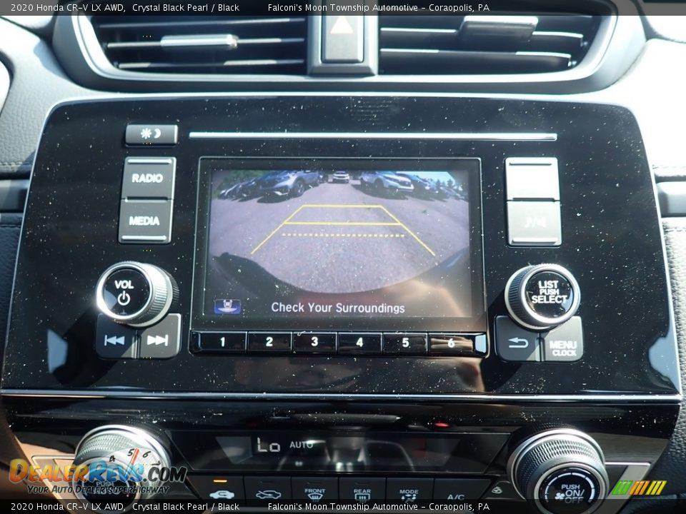 2020 Honda CR-V LX AWD Crystal Black Pearl / Black Photo #14