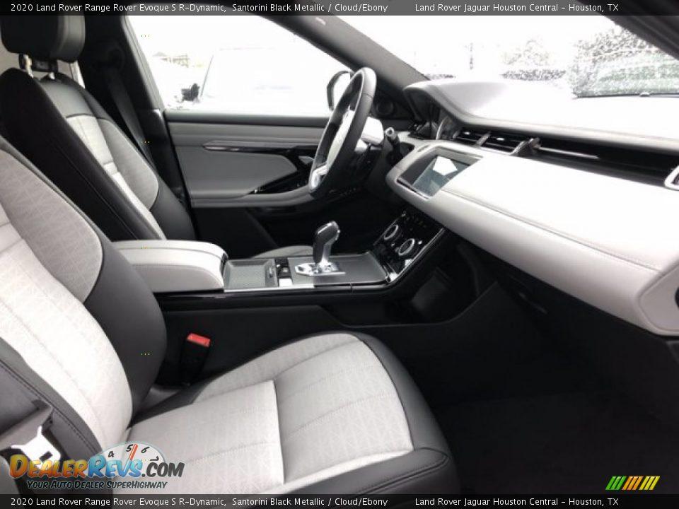 2020 Land Rover Range Rover Evoque S R-Dynamic Santorini Black Metallic / Cloud/Ebony Photo #4