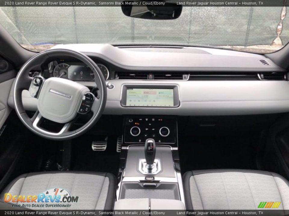 2020 Land Rover Range Rover Evoque S R-Dynamic Santorini Black Metallic / Cloud/Ebony Photo #5