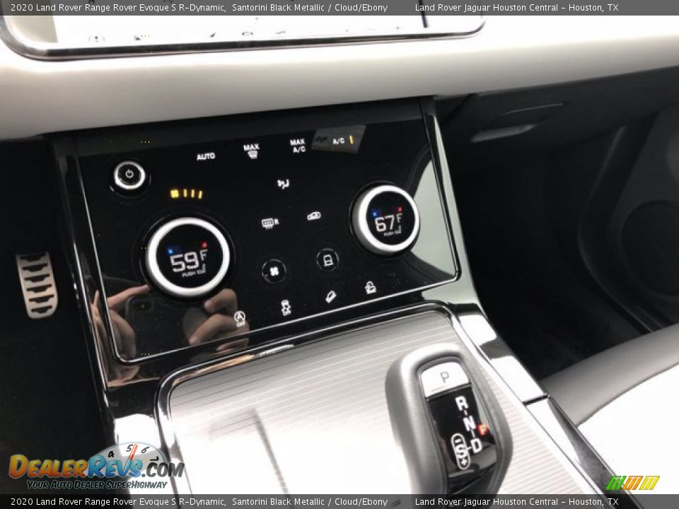 2020 Land Rover Range Rover Evoque S R-Dynamic Santorini Black Metallic / Cloud/Ebony Photo #22