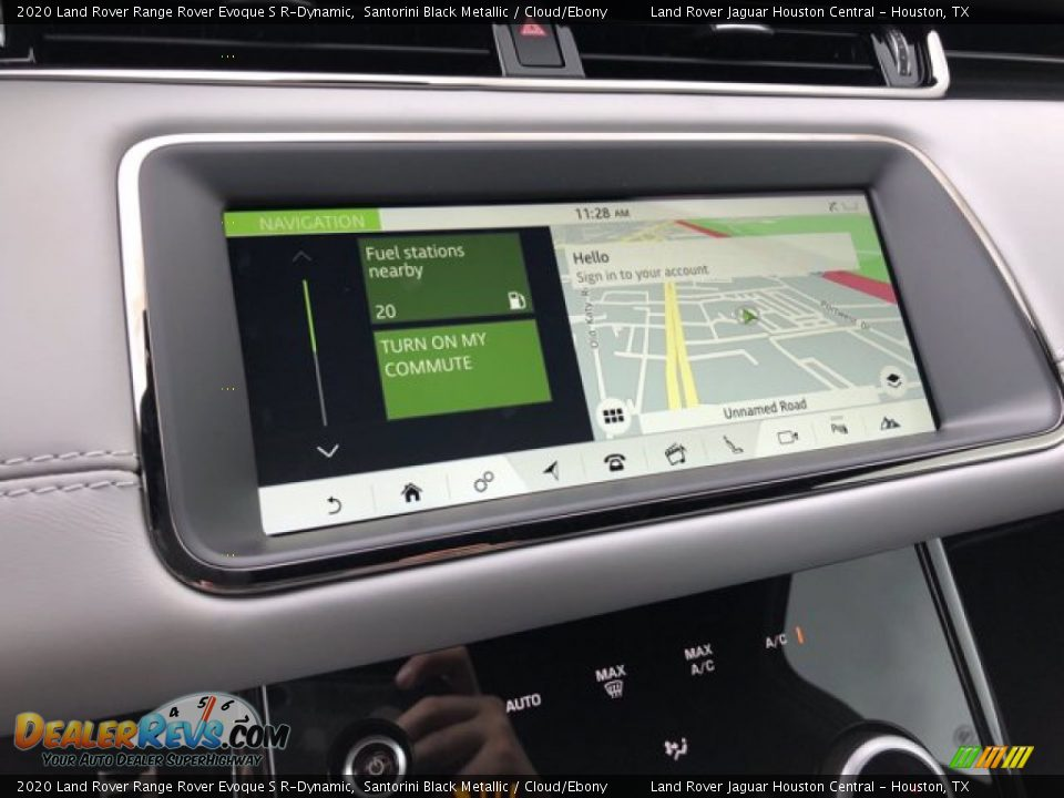 2020 Land Rover Range Rover Evoque S R-Dynamic Santorini Black Metallic / Cloud/Ebony Photo #25